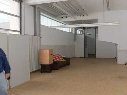 75 m² Lager/Produktion ebenerdig + je nach Bedarf 72 oder 126 m² Büro, Gilching bei München.