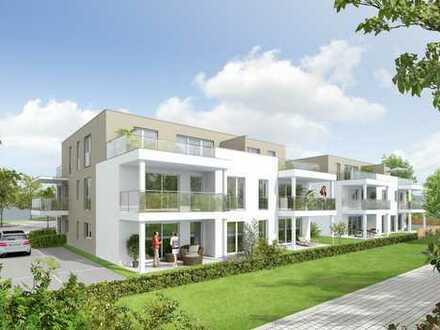 Baubeginn! Komfortables Wohnen in Dettenheim / 3 Zi.-Penthousewohnung