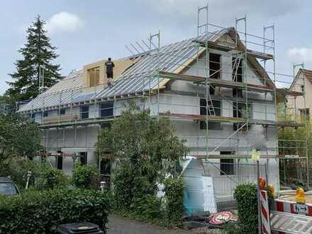 Neubau-Gartenwohnung mit ca. 300 qm Garten nach Westen ! Provisionsfrei vom Eigentümer !