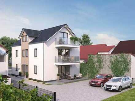 Nebau KfW 55: Charmante Maisonettewohnung in Sandhausen