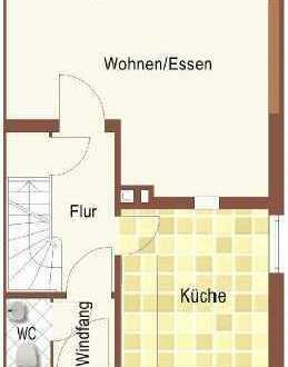 Schönes Reihenendhaus mit vier Zimmern in Heikendorf