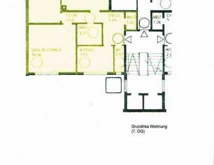 Schöne drei Zimmer Wohnung in München - Westkreuz
