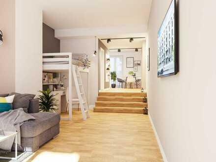 Praxis, Büro, Atelier oder Ferienwohnung mit Terrasse & Garten