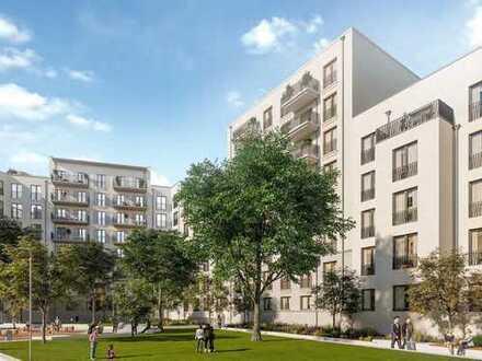 3-Zimmer-Wohnung mit durchdachter, funktionaler Aufteilung und sonnigem Balkon zum grünen Innenhof