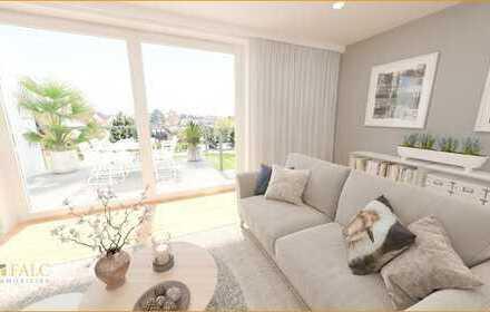 Drei-Zimmer-Traum mit zwei Dachterrassen!
