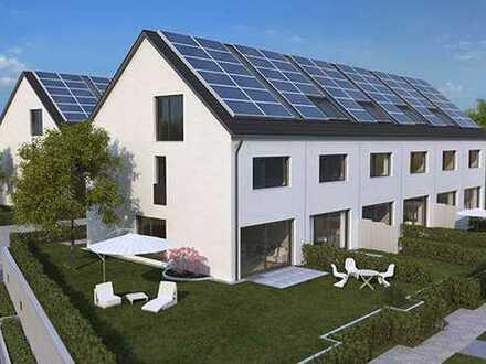 Living Blue House - Familienreihenhaus mit eigener Energiequelle
