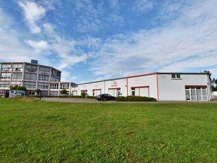Vielseitig nutzbare Gewerbehalle in Glauchau / Niederlungwitz!