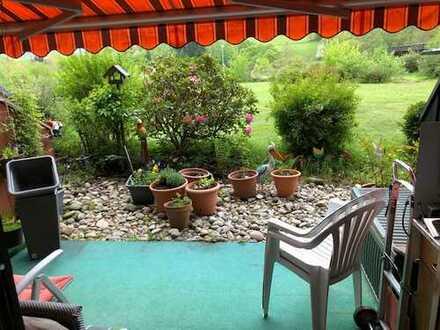 2-Zimmer-Wohnung mit Terrasse und Gemeinschaftsschwimmbad im Haus Schwarzwaldgrund