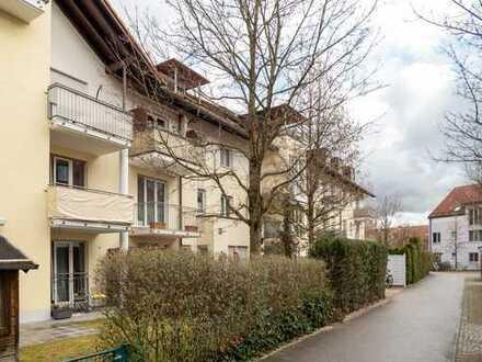 Zur Kapitalanlage - Sonnige zwei Zimmer Wohnung in Aschheim vermietet zu verkaufen