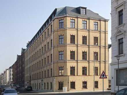 schöne 2-Raumwohnung in Reudnitz mit Balkon und Stellplatz