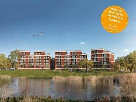 Entspannung und Entschleunigung! 3-Zi.-Wohnung mit Blick auf Geeste und Naturschutzgebiet