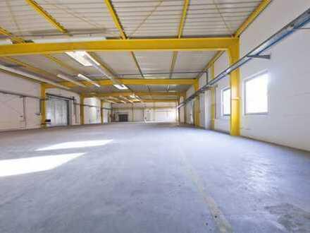 Atraktive Lager-/Produktionsflächen mit anschließender Büroeinheit