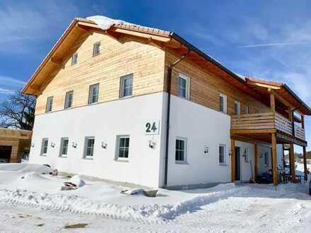 Neubau Luxus - Landhaus mit 6000 m² Grundstück - und Gewerbehalle in Oberdigisheim