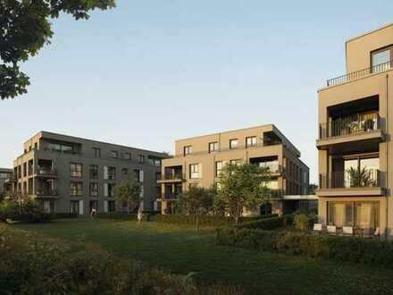 Zentral angebundene, moderne Erdgeschosswohnung in ruhiger Lage