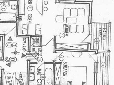 Geräumige, modernisierte 2-Zimmer-Wohnung mit gehobener Innenausstattung in Karlsruhe