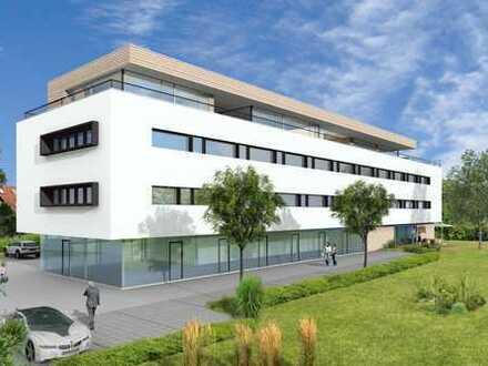 Neubau-Büroflächen: Energieeffiziente Gewerbeflächen in werbewirksamer Lage von Weingarten