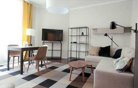 Möblierte 1 Zimmer Wohnung in Berlin-Kreuzberg am Planufer - frei ab sofort