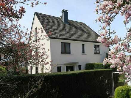 Einfamilienhaus Herdecke / Grenze zu Dortmund Schanze in guter, ruhiger Lage mit Blick über Do
