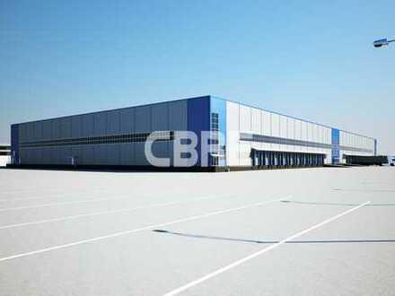 Lager- und Produktionsstandort   Düsseldorfer Süden   10 m   Rampen   Sprinkler