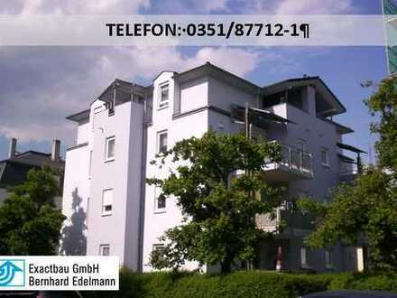 2-Zimmer-Wohnung mit Blick auf den Lockwitzbach!