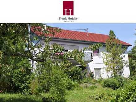 Zentrales Wohnen mit Blick über Lichtenstein
