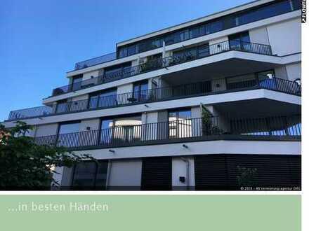 4,5-Zimmer-Luxuswohnung im Zentrum von Rosenheim, sonnige Süd-West-Terrasse, ruhige Innenhoflage