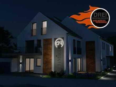 Schmiede2! Barrierefreie Neubauwohnung mit Balkon und A+ Energieeffizienz in Zuchering!
