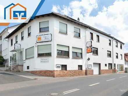 Großzügiges Wohn- und Geschäftshaus mit Nebengebäude in zentraler Lage von Eiterfeld!