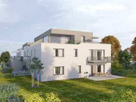 3 ZKB Neubauwohnung mit großer Sonnenterrasse und Gartenanteil in Augsburg Hochzoll - Nord