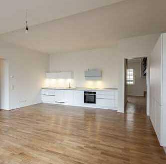 Erstbezug in den Bleichert Werken! Großzügige 3 Zimmer mit Einbauküche, 2 Bädern und großem Balkon