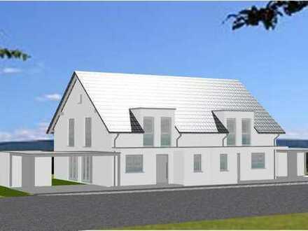 Erstbezug schöne Doppelhaushälfte mit vier Zimmern in Waldenburg mit Einbauküche und Terrasse