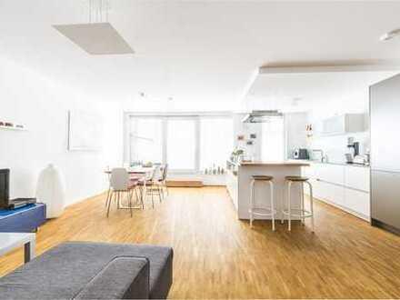Musikerviertel: 4,5 Zimmer Wohnung im Penthouse-Stil über den Dächern Ludwigshafens