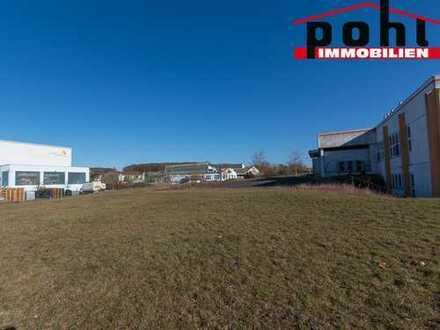 Gewerbegrundstück mit 2100 m², hier können Sie Ihr Unternehmen gut sichtbar Positionieren!