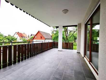 F&D | Schöne 3,5-Zimmer-EG-Wohnung mit wundervoller Balkonterrasse