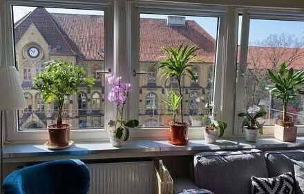 Sehr helle 3-Zimmer Wohnung in Top Lage mit Blick ins Grüne