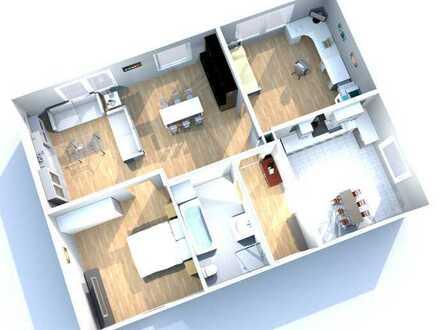 Helle, geräumige 3-Zimmer-Wohnung zur Miete in Ennepetal-Voerde