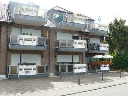 3-Zimmer-DG- Wohnung mit Balkon und Tiefgarage in zentraler Lage von Weilerswist