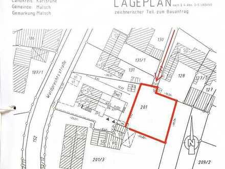 Grundstück in Malsch zum Verkauf