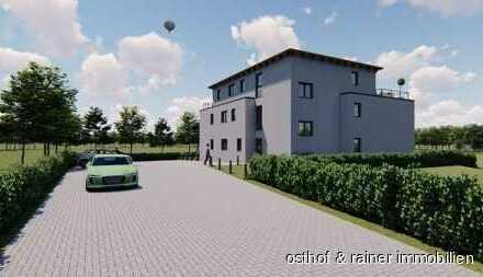 Neubau in attraktiver Feldrandlage * Erstbezug im Frühjahr * Autobahnanschluss in 3 km Entfernung