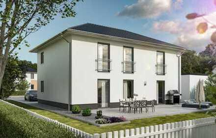 Massivhaus Flair 180 Duo - Urbaner Wohnkomfort für zwei Familien in Empfingen