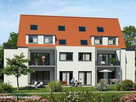 Neubau in Weinstadt-Strümpfelbach 3,5 Zimmer Wohnung mit mit Terrasse und Garten barrierefrei §35