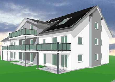 Erstbezung 3-Zimmer-Erdgeschoss-Wohnung mit riesigem Garten