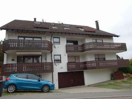 Idyllisch gelegene 3-Zimmer-Mietwohnung mit großem Balkon