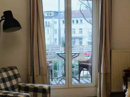 Charmante 2-Zimmer-Wohnung mit Balkon und Einbauküche in Frankfurt