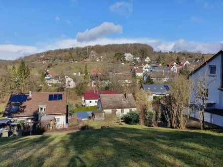 Rarität in Tübingen: Großzügiges Baugrundstück für ein Ein- bis Zweifamilienhaus in herrlicher