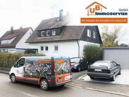 Zweifamilienhaus in Großaspach - mit XXL-Garten