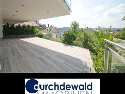 Erstbezug: Moderne 4-Zimmer-Stadt-Wohnung mit schöner großer Terrasse