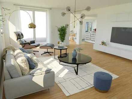 ***Moderne Penthouse-Wohnung mit großzügiger Dachterrasse im Neubau***