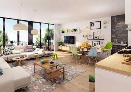 Erstbezug! Sonnige Wohnung mit großzügigem Balkon - hochwertig ausgestattet!