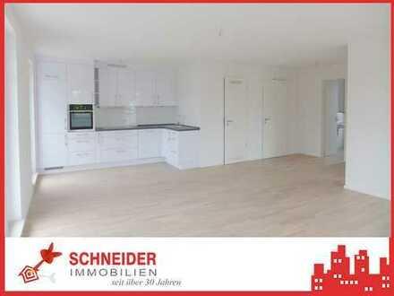 IMMOBILIEN SCHNEIDER - NEUBAU - hochwertig ausgestattete 2 Zimmer-Wohnung mit Süd- & West-Balkon